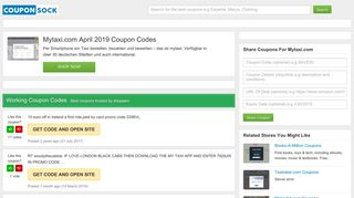 50% Off Mytaxi.com Coupons: February 2019 Coupon Codes ...