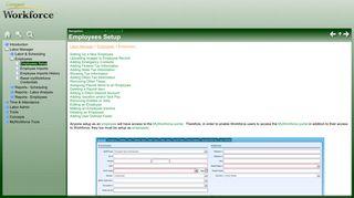 MyWorkforce User Setup - Compeat