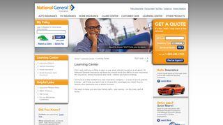 Learning Center - National General Insurance
