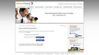 Auto and RV Policyholders - National General Insurance