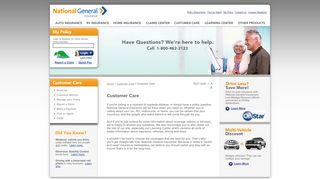 Auto, Home & RV Insurance Company Online | National General ...