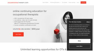 OccupationalTherapy.com | Occupational Therapy Continuing Education