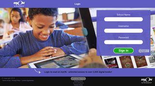 Login - Sign In - myON®