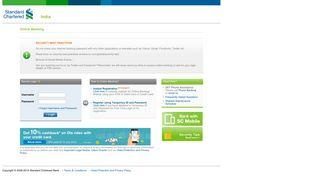 Standard Chartered Online Banking