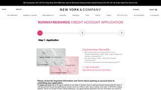 Apply Now - New York & Company