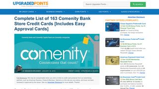 163 Comenity Bank Store Credit Cards - Plus Easy Approvals [List]