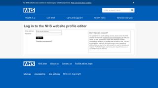 Log in - NHS