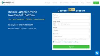 India's Best Online Investment Platform