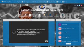 Teachscape - Gadsden Independent School District