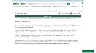 About NOOK Registration - Barnes & Noble