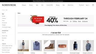 Men's Clothing & Accessories | Nordstrom