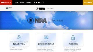 NRA Instructors