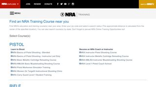 NRAInstructors.org - Portal for NRA Certified Instructors, NRA ...