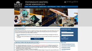 pgadmission.nust.edu.pk.
