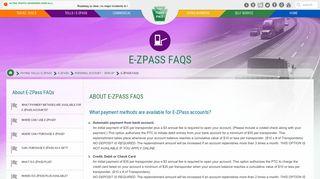 Personal FAQ - PA Turnpike