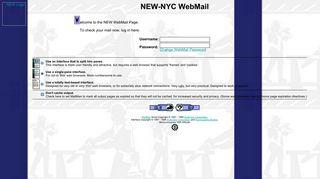 NEW-NYC WebMail Login