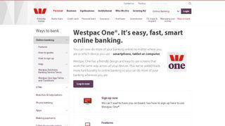 Online Banking » Westpac New Zealand