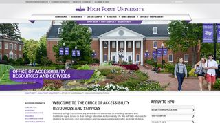 welcome to the office of accessibility resources and services