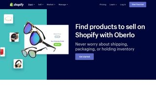 Find products to sell online with Oberlo - Shopify