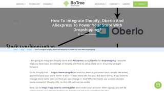How To Integrate Shopify, Oberlo And Aliexpress To Power Your Store ...