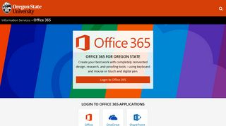 Office 365 | | Information Services | Oregon State University