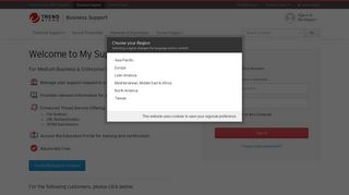 Sign in to MySupport - Trend Micro Success