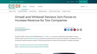Omadi and Whiterail Reviews Join Forces to Increase Revenue for ...