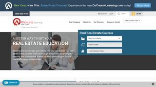 Real Estate School - Online Courses | OnCourse Learning Real Estate ...