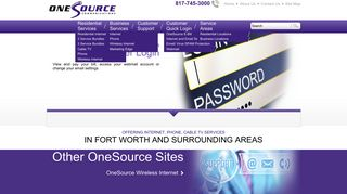Email Settings - OneSource Communications