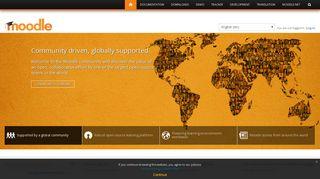 Moodle - Open-source learning platform | Moodle.org