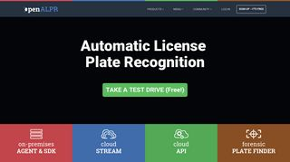 OpenALPR - Automatic License Plate Recognition