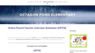 Optis — Octagon Pond Elementary