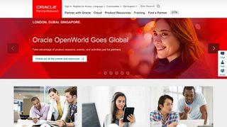 Oracle PartnerNetwork