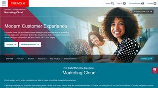 Marketing Cloud | Oracle