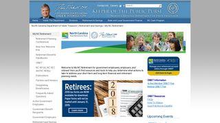 Retirement Systems - North Carolina Department of State Treasurer