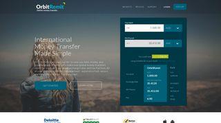 OrbitRemit Global Money Transfer - Send Money Online