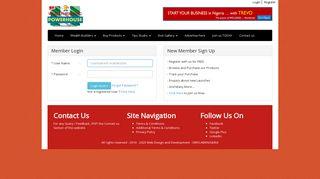 Login - Start own business | Register | Buy, Sell or Network