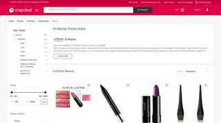 Oriflame: Buy Oriflame Products, Cosmetics Online at Best Prices in ...