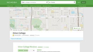 Orion College Reviews - Niche