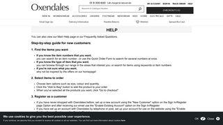 Help - Oxendales.ie | Irish fashion clothing | Plus size women's ...
