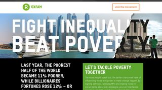 Sign up | Oxfam GB