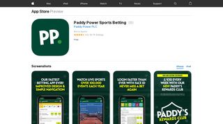 Paddy Power Sports Betting on the App Store - iTunes - Apple