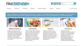 PakSense: Cold Chain Logistics & Technologies Services
