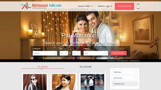 Pal Matrimony - Hindu Pal Matrimonial for Shaadi and Marriage