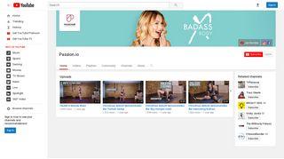 Passion.io - YouTube