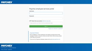 Paychex employee services