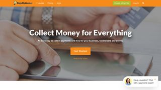 Collect Money on Sign Ups - Sign Up Genius