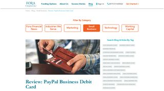 Review: PayPal Business Debit Card   Fora Financial Blog