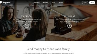 PayPal: Send Money, Pay Online or Set Up a Merchant Account