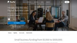 Get a Small Business Loan Online from $5,000 to $500,000 - PayPal